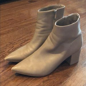 Marc Fisher heeled booties—worn under 10 times!